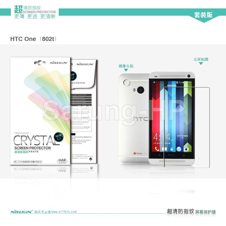 Nilkin Crystal Screen Protector HTC One Dual 802T